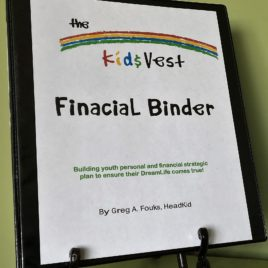 Kid$Vest Financial Binder