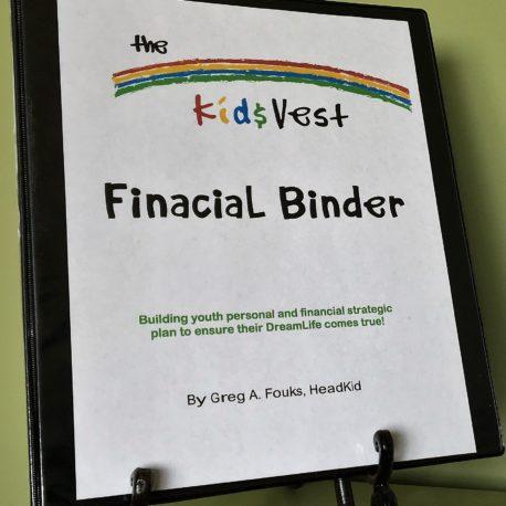Kid$Vest Binder